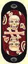 Lady Great Skull Zero, 2013 Oracle Divination Cards