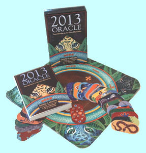 2013 Oracle Set: Book, Divination Cards, Cenote Cloth